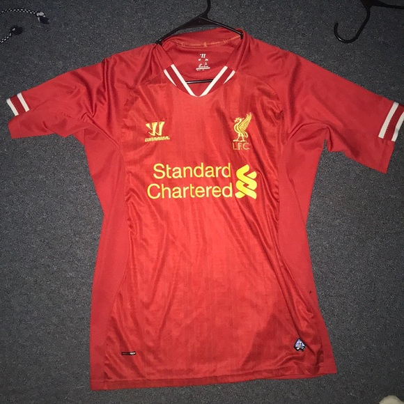 cheap for discount dfe48 54f49 Liverpool home jersey